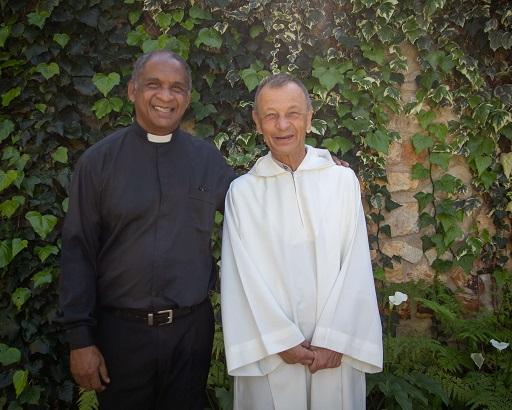 With Rev. Edwin Arrison